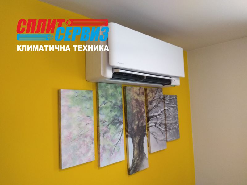монтаж на климатик