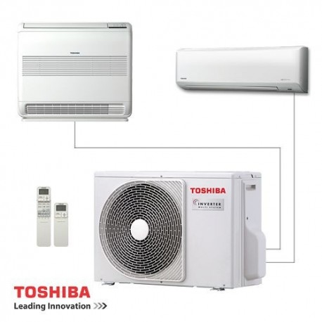 Toshiba RAS-2M18S3AV-E външно тяло за мултисплит