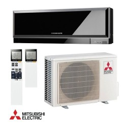 mitsubishi electric msz-ef-black