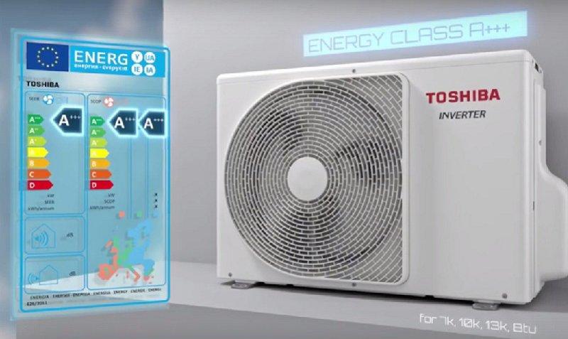 Toshiba Shorai Edge Energy Class A+++