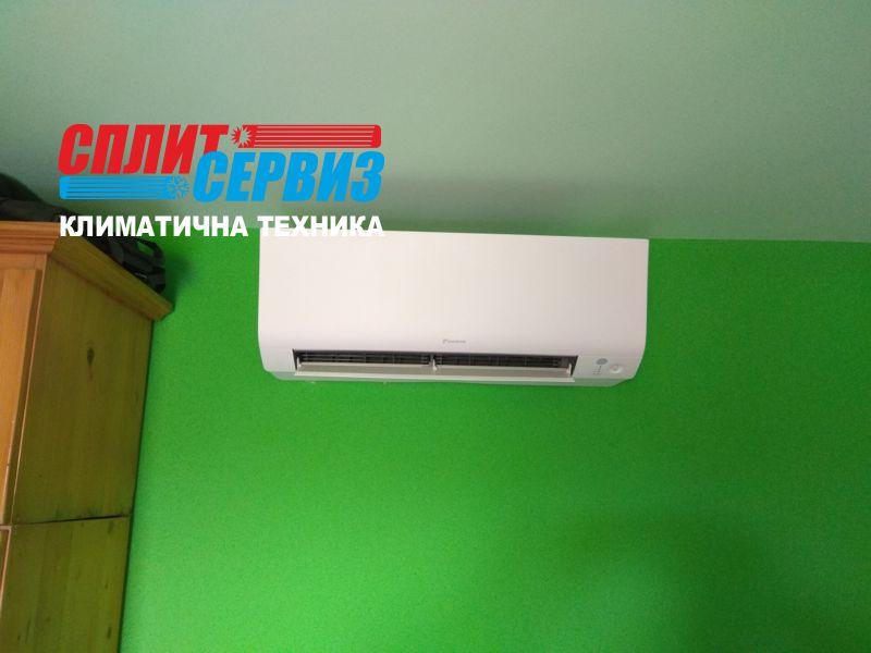 монтаж на климатик Daikin FTXM35M