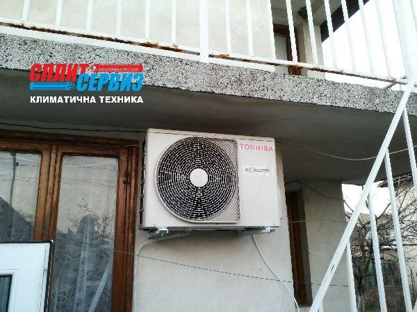Монтаж на климатик Toshiba Suzumi plus