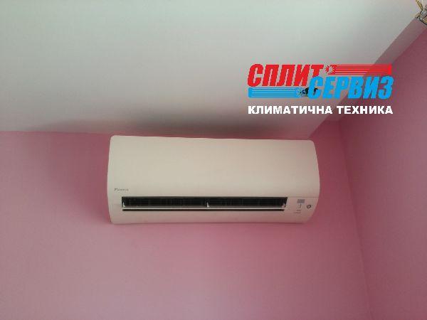 монтаж климатик Daikin FTXS42K Варна