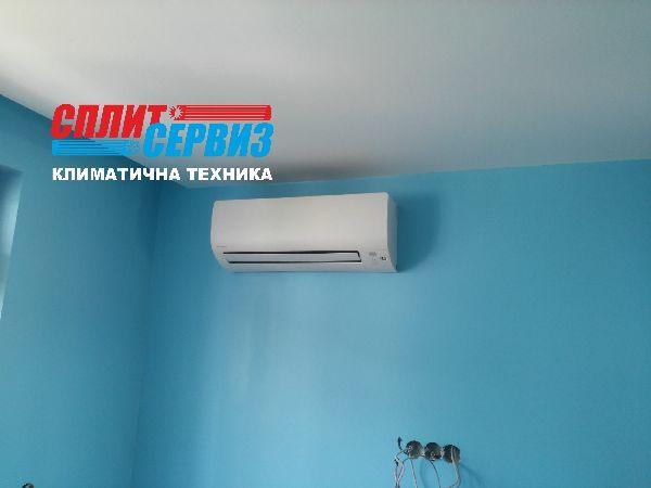монтаж климатик Daikin FTXS25K Варна