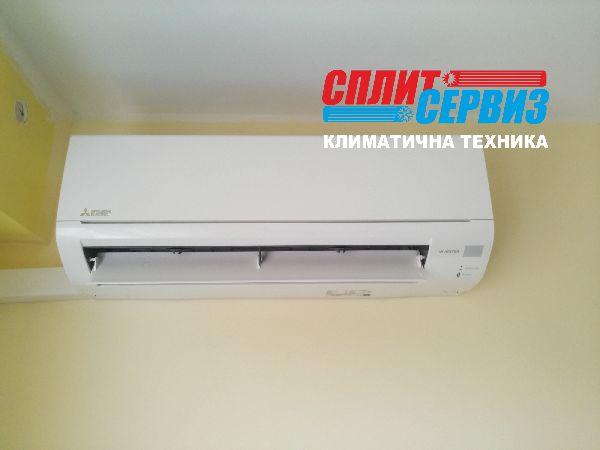 монтаж на климатик Mitsubishi Electric MSZ-DM35